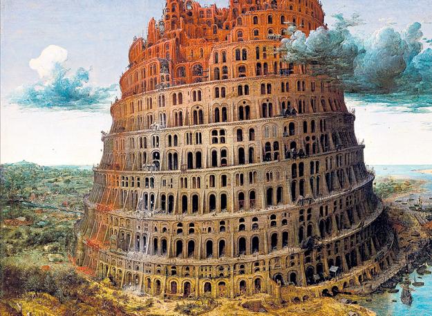 Легенда о Вавилонской башне объясняет великое разнообразие наречий