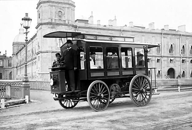 Электромобиль Ипполита РОМАНОВА 1899 года...
