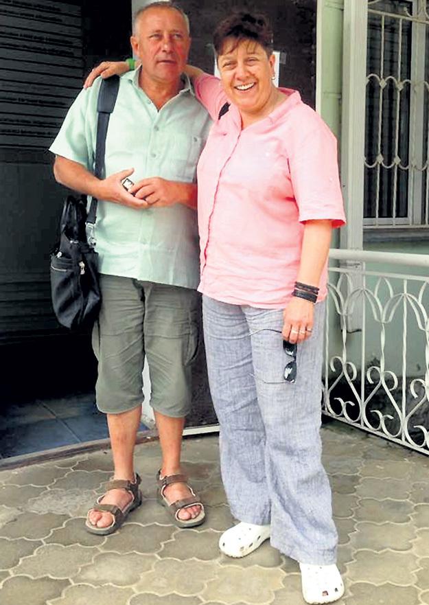 С женой Марией. Фото: Facebook.com