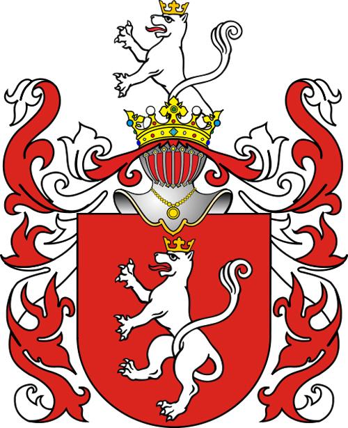 Герб князей Курбских в Речи Посполитой. Источник: wikipedia.org