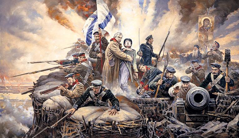 Героическая оборона Севастополя (1854 - 1855 гг.) продолжалась больше 11 месяцев и стала примером отваги и мужества его защитников