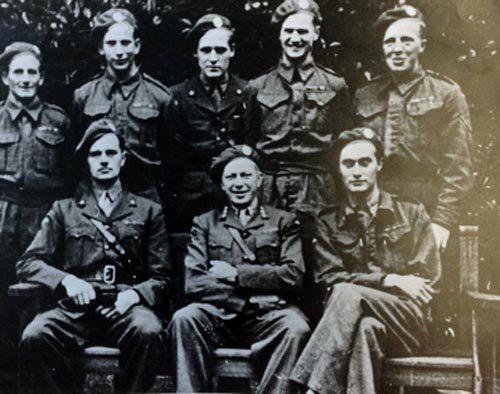 Команда «Ганнерсайд», бывшие норвежские военные, прошедшие спецподготовку в Британии. Источник: nealbascomb.com