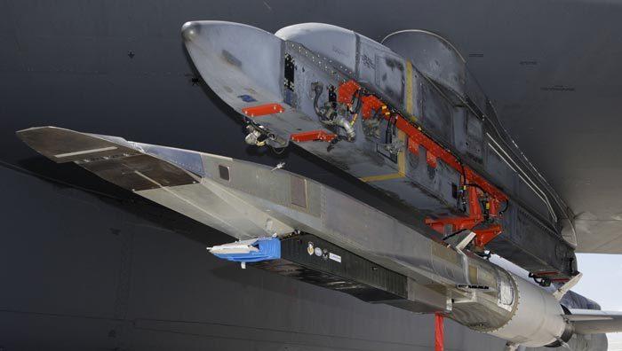 Гиперзвуковая ракета X-51A Waverider перед испытаниями. Источник: af.mil