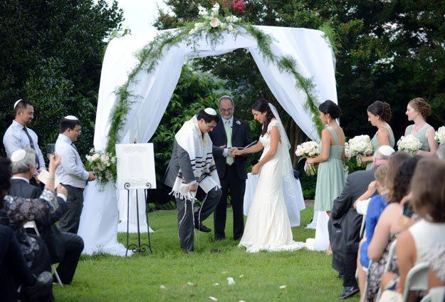 Еврейская свадьба. Фото: story-wedding.ru