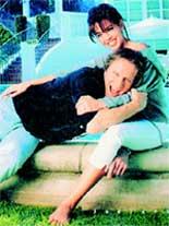 С супругой Джеймиз ХАФТ