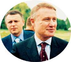 БРАТЬЯ СУРКИСЫ: Игорь (слева) и Григорий