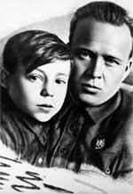 ПУСТЬ СВЕТИТ: Аркадий Гайдар с сыном
