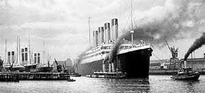 НАЧАЛО КОНЦА: колосс выходит из гавани Саутгемптона