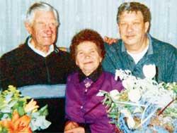 В СЕМЬЕ ПОПОЛНЕНИЕ: жена Петра Васильевича приняла его бельгийского сына как родного