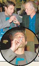 СТИВ: забалдел от табака Дэвида