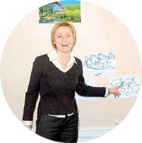 ДОМАШНИЙ ВЕРНИСАЖ: рисунки ребенка-полиглота