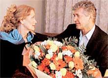 ЛЮБЯЩАЯ ПАРА: Ирина с верным супругом Сергеем