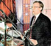 КУДРИН: «Могу играть на барабанах и на нервах»