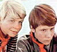 К/Ф &#034БРОНЗОВАЯ ПТИЦА&#034: Шевкуненко (справа) сыграл мальчика-лидера