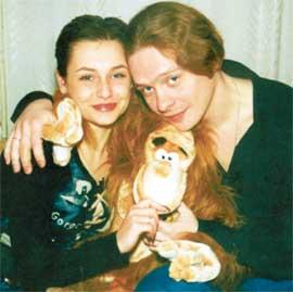 ЭКС-СУПРУГИ: в 2004-м, встречая год обезьяны, Катя и Паша не помышляли о разводе