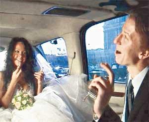 МИТЯ ГРЫЗЛОВ: свидетель на свадьбе Елены Берковой был явно в экстазе