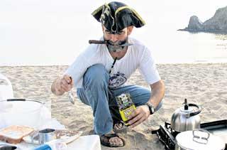 АНАТОЛИЙ КУЛИК: на необитаемом острове почувствовал себя настоящим пиратом