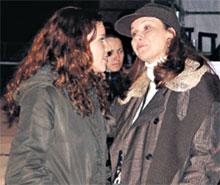 ПОДРУЖКИ: Аня Соловьева с мамой Таней