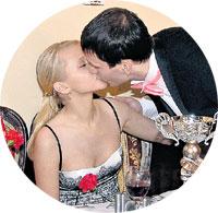 ... поцелуй - только жене