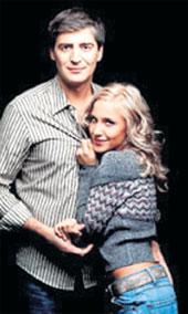 СЕРГЕЙ И ЮЛЯ: друзья считают их идеальной парой (фото с сайта www.cosmo.ru)