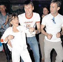 ТИТОВ: на одной из вечеринок «зажигал» в компании с Ириной Родниной