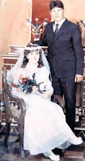 СВАДЕБНОЕ ФОТО: Галина была единственной женой Юрия