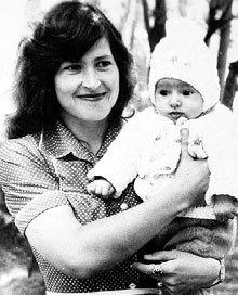 Екатерина с Леночкой