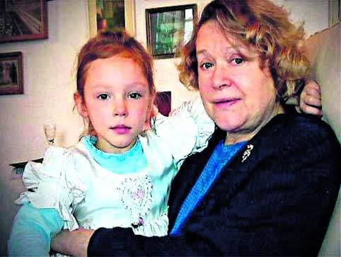 Валентина Илларионовна с внучкой Настей. Фото: 1tv.ru