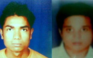 Фото насильников - Аман Бхарадвадж (слева) и Анил Рагхуванши