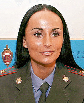 Астраханские менты мечтают, чтобы их новые коллеги выглядели не хуже Ирины ВОЛК из столичного УБЭПа