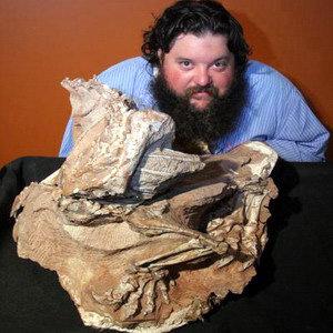 Палеонтологи считают, что динозавр погиб, утонув в зыбких дюнах