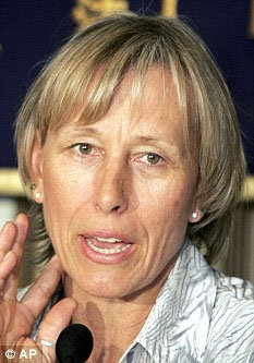 Мартина НАВРАТИЛОВА шокирована страшным диагнозом. Фото: Daily Mail