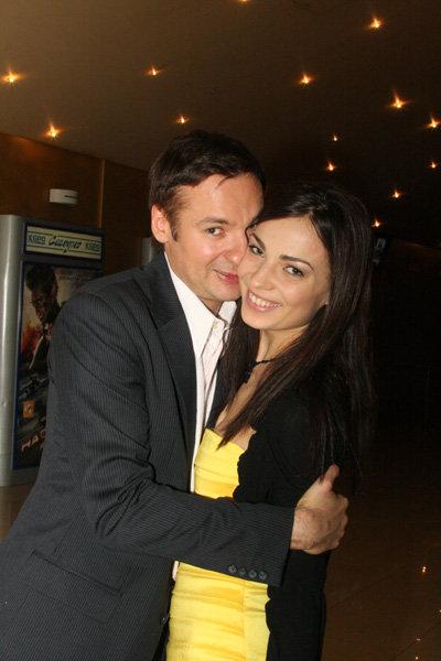Павел САНАЕВ с женой Алёной