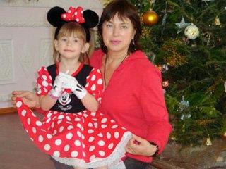 Ольга - мама ШЕЙК с внучкой Иришкой с нетерпением ждут приезда Ирины летом в гости