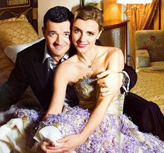 Ксения Алферова и Егор Бероев. Фото Hello