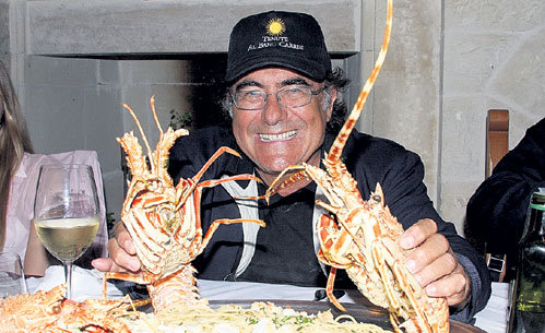 По словам Аль Бано, мужчинам просто необходимо есть много морепродуктов