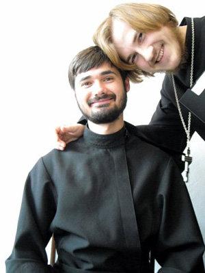 Валентин Михайлов (слева). Фото с личной страницы