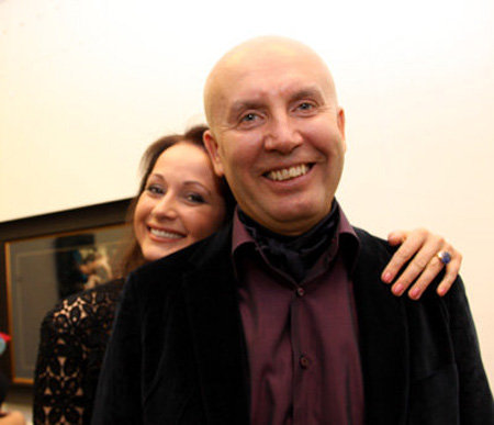 Ольга Кабо с мужем Николаем. Фото Бориса Кудрявова