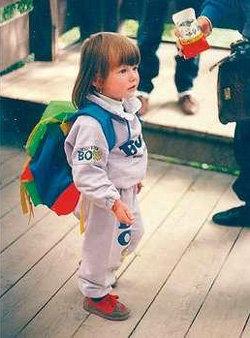 Наташа КАМПУШ в детстве