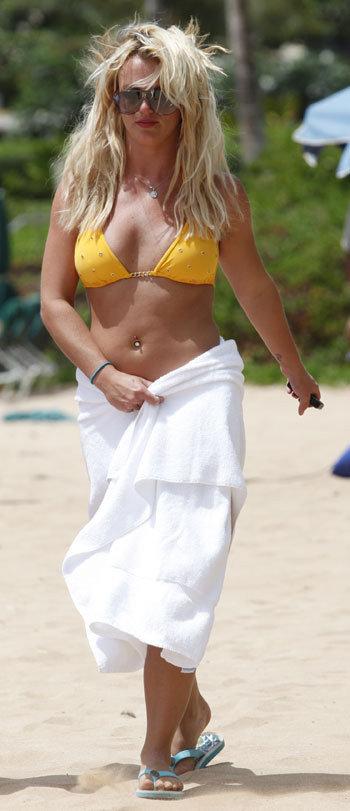 В отпуске Бритни заметно постройнела и посвежела. Фото: Splash / All Over Press