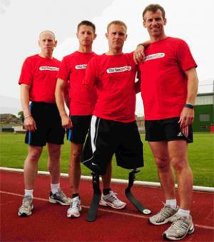 Марк ОРМРОД, потерявший в Афганистане обе ноги и правую руку, примет в США участие в марафоне, который пройдёт по маршруту Форреста Гампа