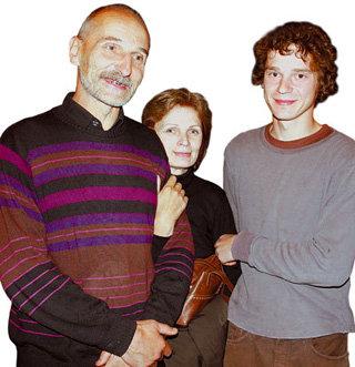Иван МАМОНОВ с папой и мамой