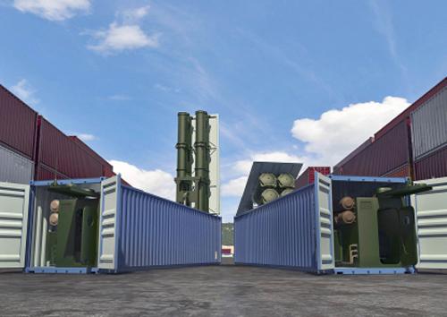 Club-K позволяет «Калибрам» стартовать с самых неожиданных мест, например, из грузового порта. Источник: roe.ru