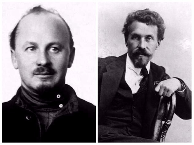 Николай Бухарин и Алексей Рыков