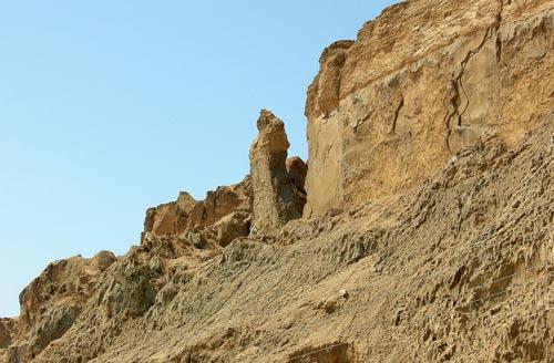 «Жена Лота» на горе Содом, Израиль. Фото: ru.wikipedia.org