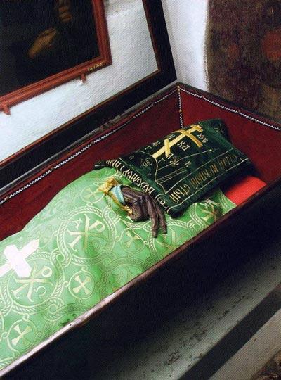 Рака с мощами святого Ильи