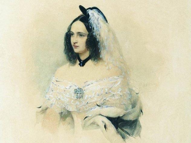 Портрет Натальи Николаевны Пушкиной