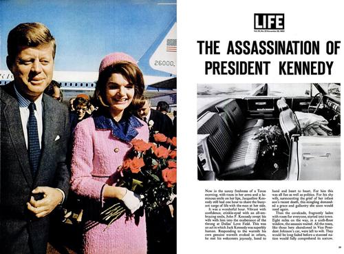 Разворот журнала Life, 29 ноября 1963 года. flickr