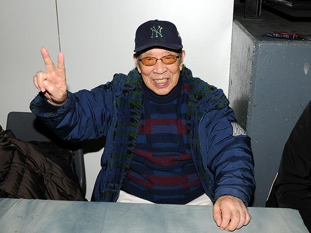 ВЯпонии скончался  сыгравший Годзиллу актёр Харуо Накадзима