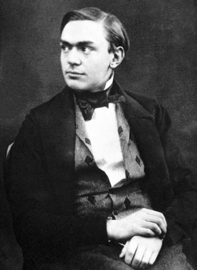 Нобель в молодые годы. Фото: wikimedia